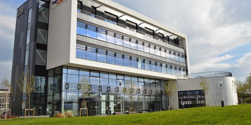 Bootle glass - Hughbaird College glazing installation